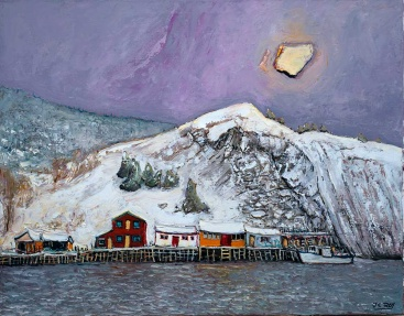 Quidi Vidi in Winter